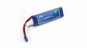 E-flite 2500mAh 4S 14.8V 30C LiPo, 12AWG EC3 - EFLB25004S30