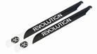 550mm FBL 3D Carbon Main Blades by Revolution - RVOB055050