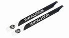 690mm FBL 3D Carbon Main Blades by Revolution RVOB069050