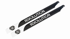 710mm FBL 3D Carbon Main Blades by Revolution RVOB071050