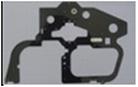 Carbon main frame L-side A50V009