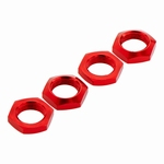 Arrma - Aluminum Wheel Nut 17mm Red (4) - AR330360